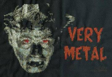 Very Metal - xstitch