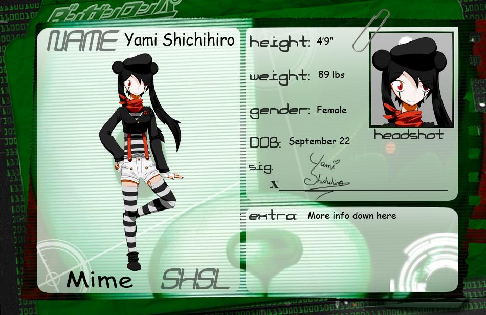 HPA: Yami Shichihiro by Dark7Hero