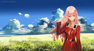 Zero Two I Darling In The Franxx