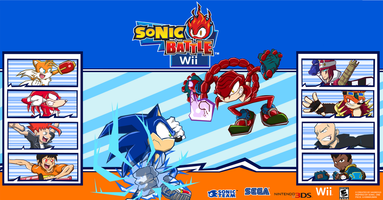 Sonic Battle Wi... Knuckles Game
