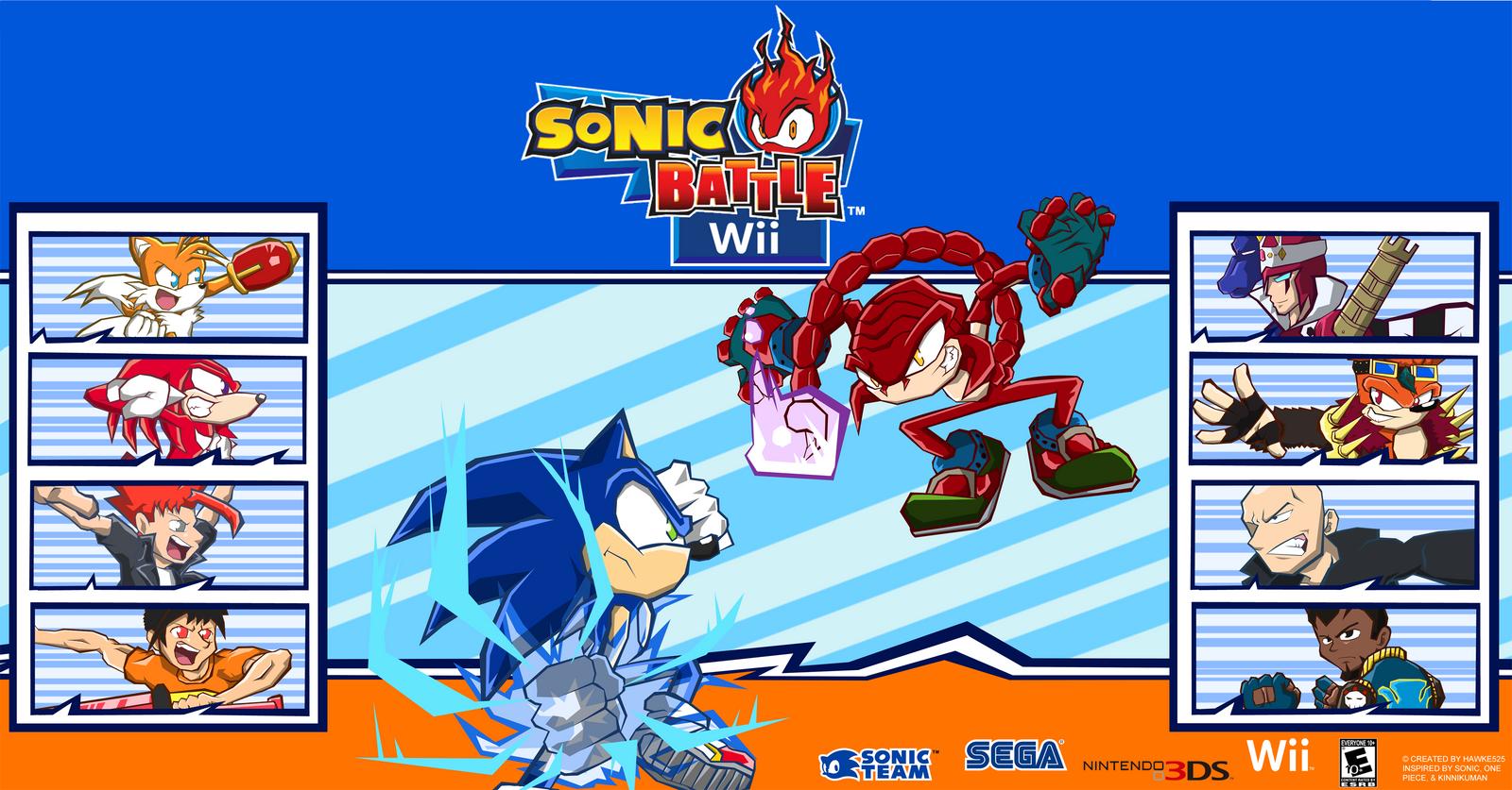 Sonic battle rus скачать
