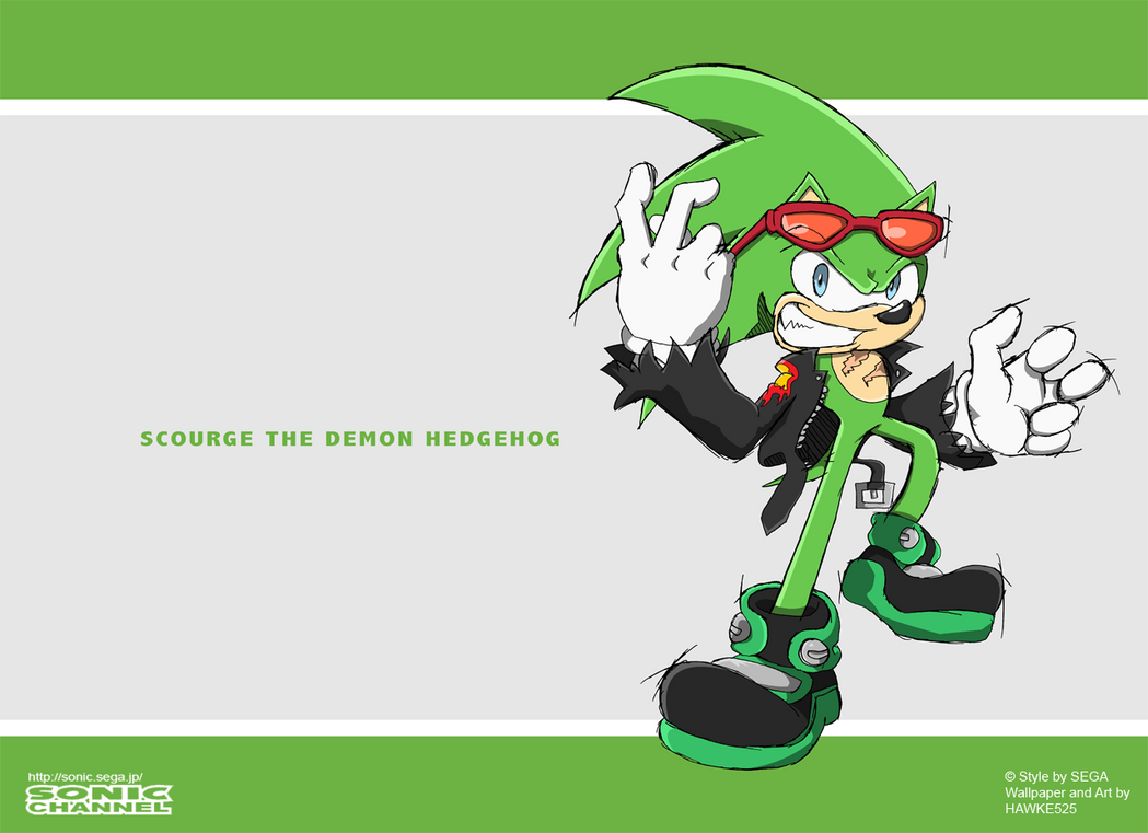 New Sonic Channel: Scourge by Hawke525