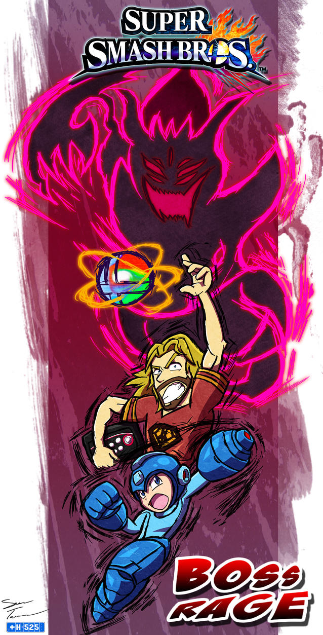 Max's Boss Rage Poster 4 Smash Wii U by Hawke525