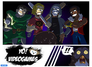 YoVideogames Doods and Owl