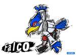 Smash Art- Falco