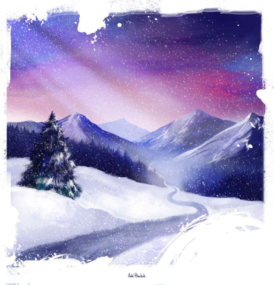 Winter by AnnHimchak