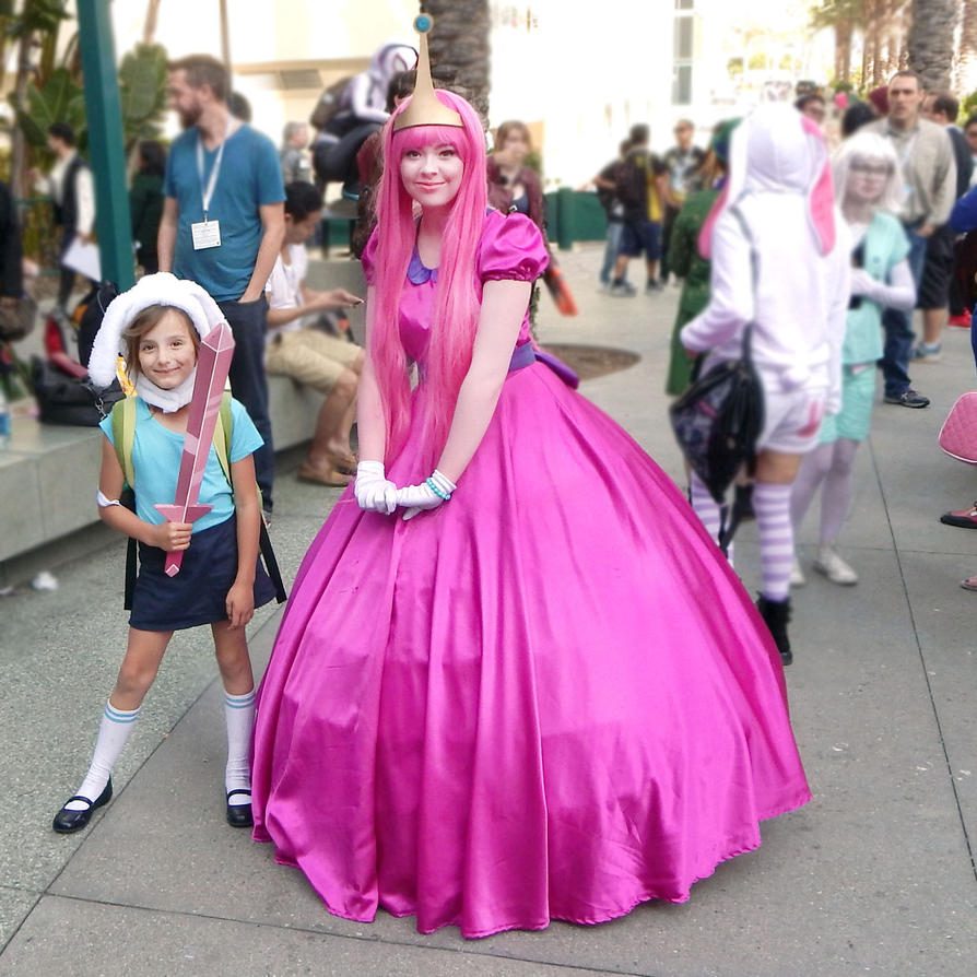 sc 1 st  DeviantArt & Adventure Time Fionna and Princess Bubblegum by RuthTillmanDesigns ...