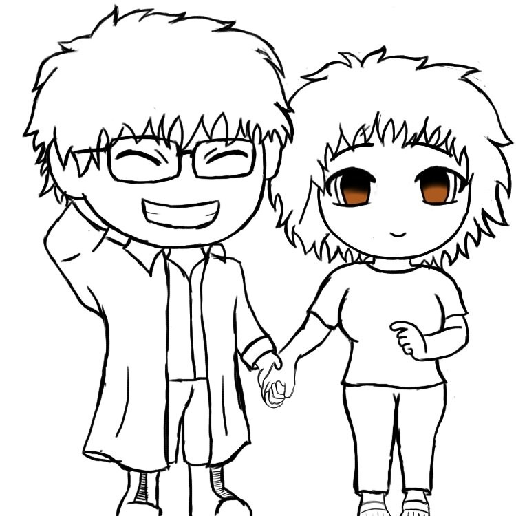 My Girlfriend And Me Sketch By Gutgash117