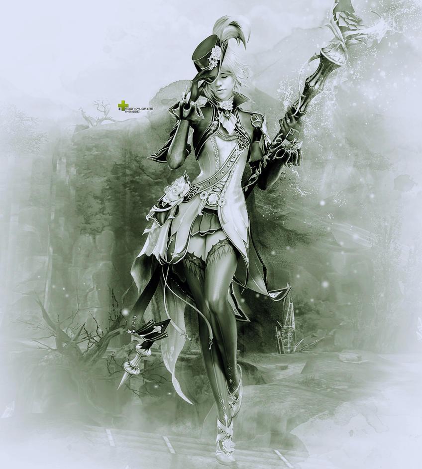 The Chanter (DARK VER.) by spiderliliez