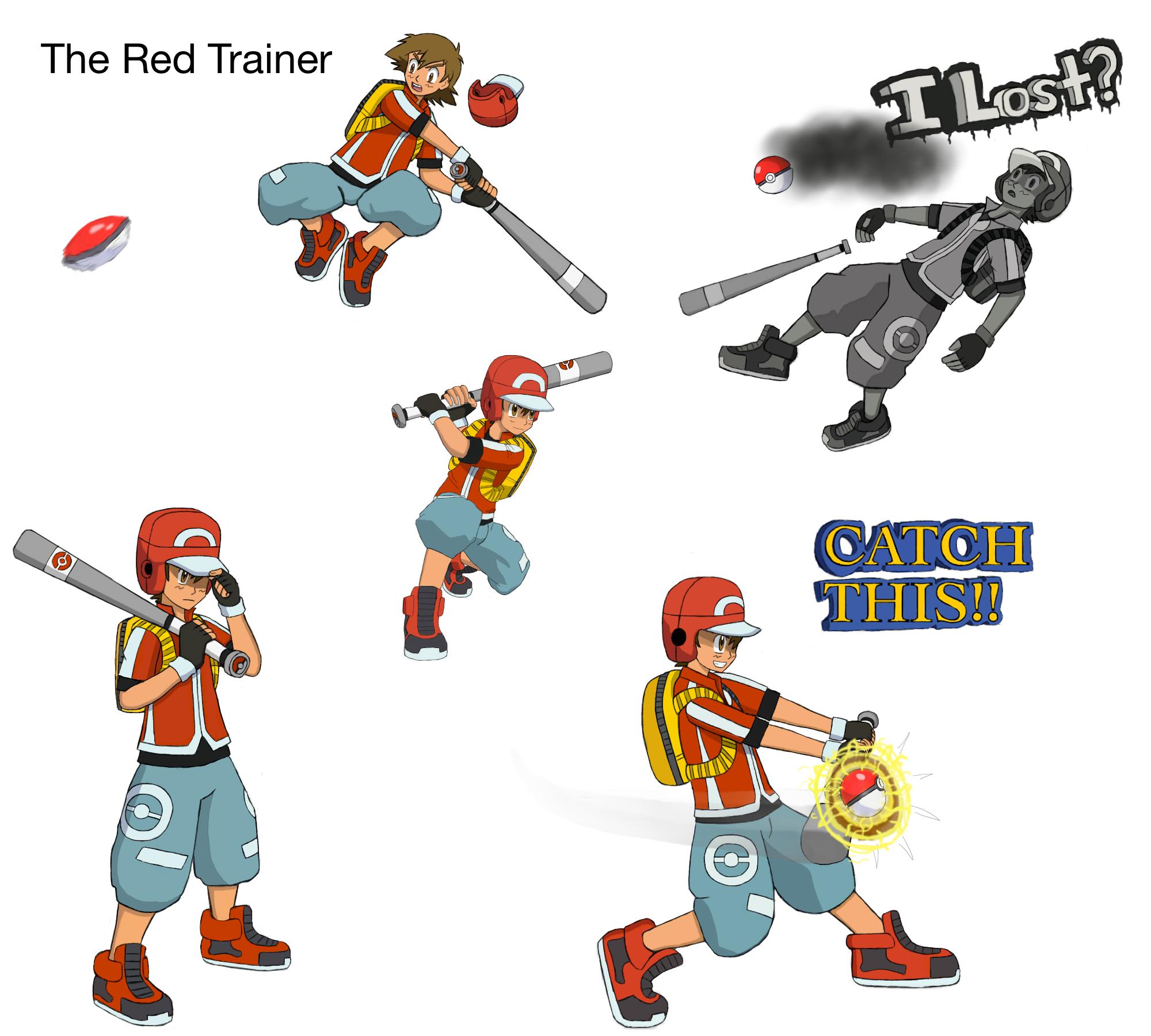 lethal pokemon league ash ketchum red trainer by james dean