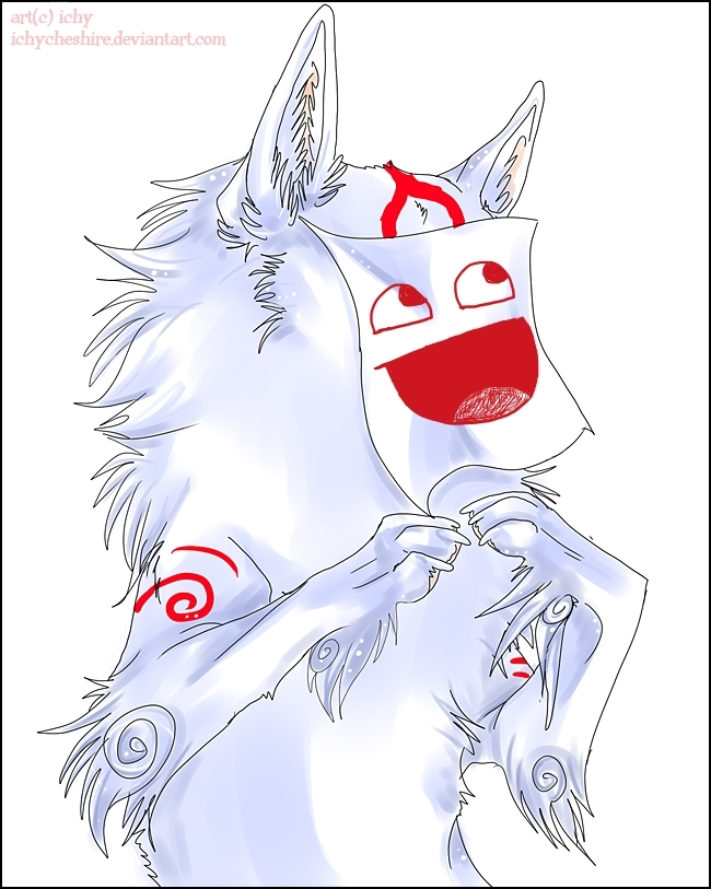 My Okami Version... LOL by Dibe