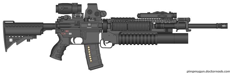 Custom M16a4