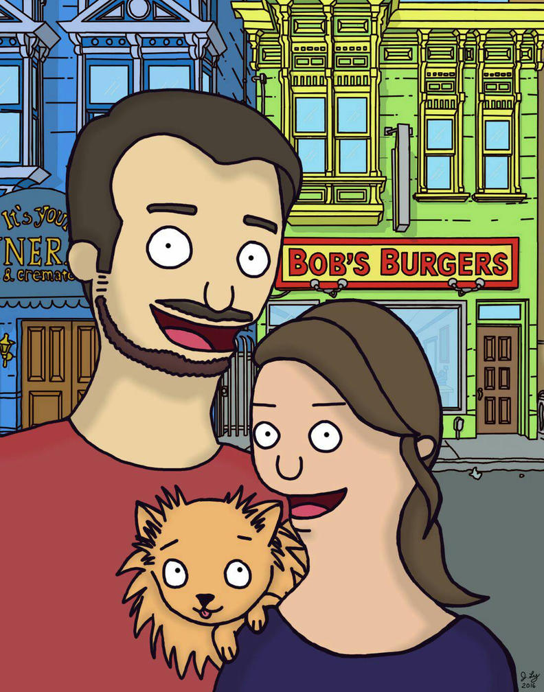 Bob's Burger Commission by Yutsuki-chan