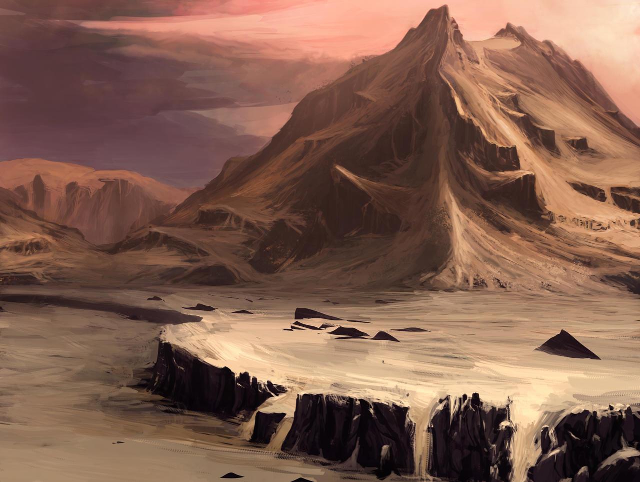 Desert Volcano by Balance-Sheet