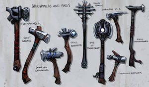 Warhammers and Axes