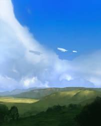 SpeedPaint_Blue Sky by Balance-Sheet