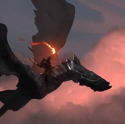 Speedpaint_Dragon Talisman by Balance-Sheet