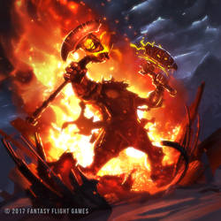 Keyforge: Burn the Stockpile by Balance-Sheet