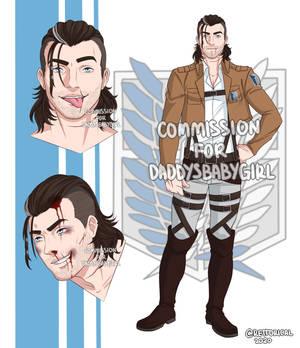Benjamin Holtz - OC by DaddysBabyGirl @ Toyhou.se