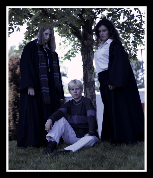 Draco And His Girls by DragonsHoardCosplay