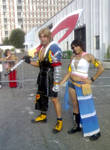 Cosplay Time Tidus and Yuna