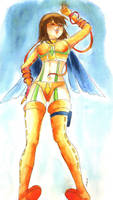 Young Cyborg by yuna-yume