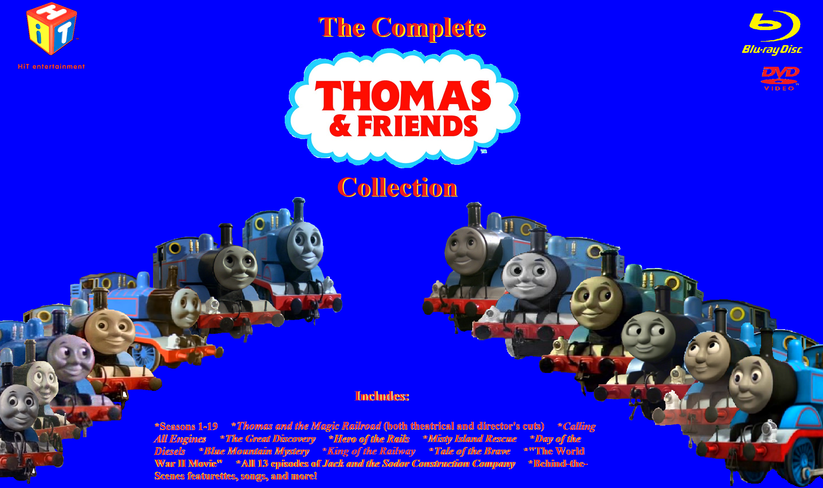 The Complete Thomas and Friends Collection by DinoNTrains on ...