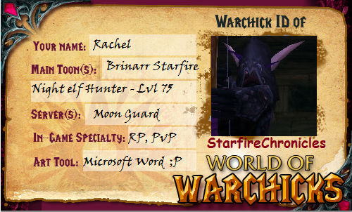 Warchick ID: Brinarr by StarfireChronicles