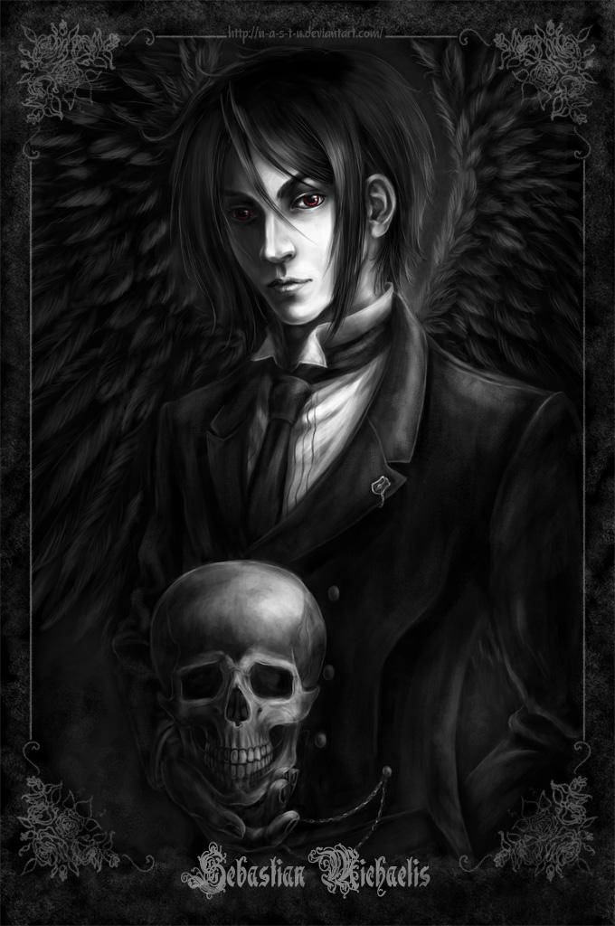 Sebastian Michaelis by n-a-S-t-u