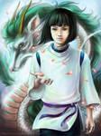 Spirited Away - Haku by n-a-S-t-u
