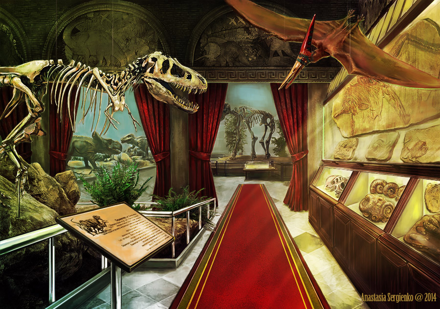Paleontological Museum by n-a-S-t-u