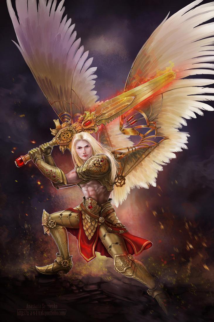 Angel by n-a-S-t-u