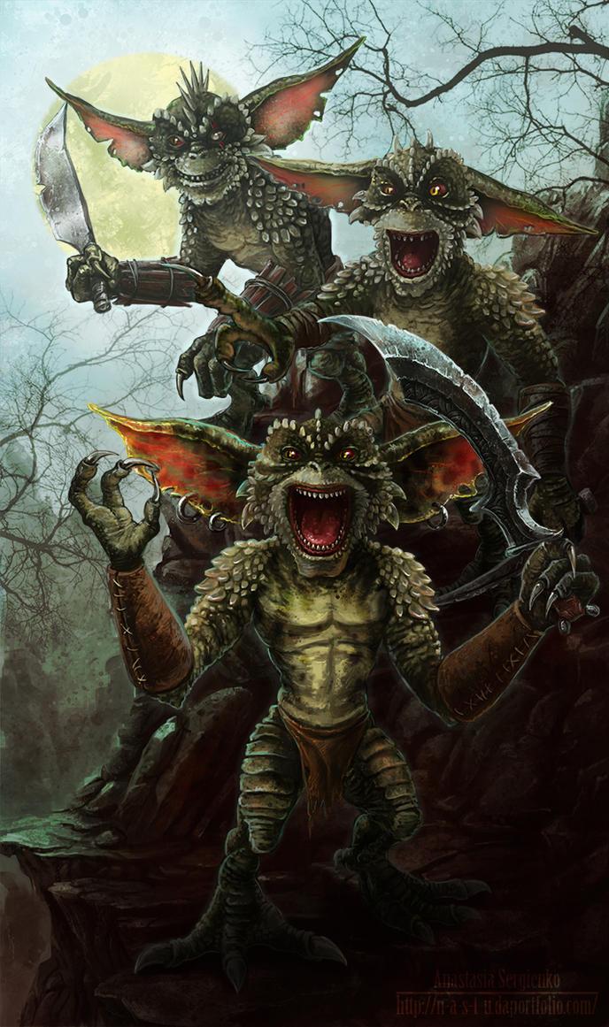 Gremlins by n-a-S-t-u