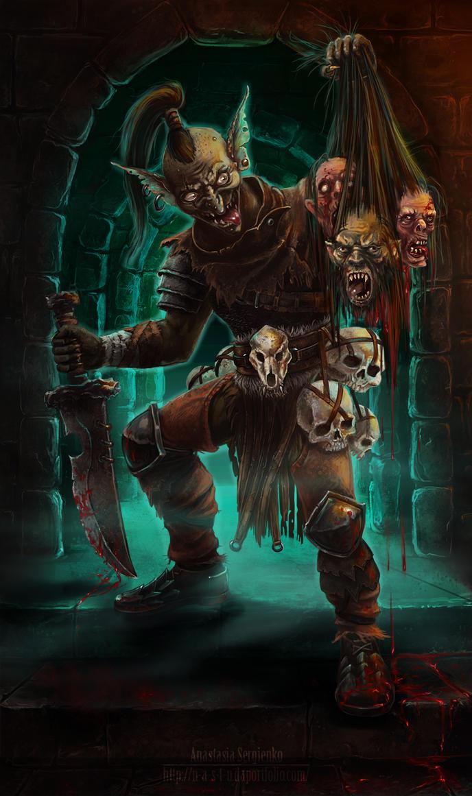 Goblin Murderer by n-a-S-t-u