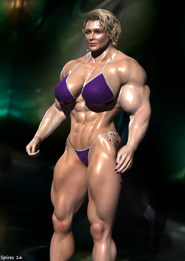 3d amazon muscle women erotic movies