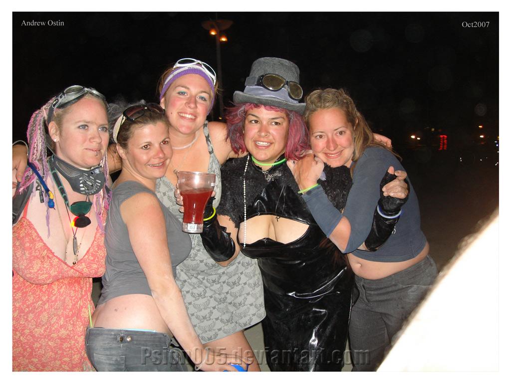 Burning Man Buddies by psion005
