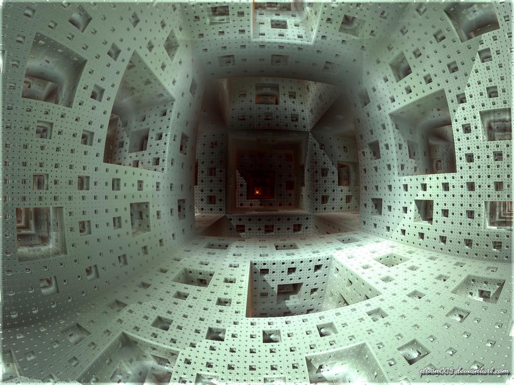 Inside the Menger Sponge