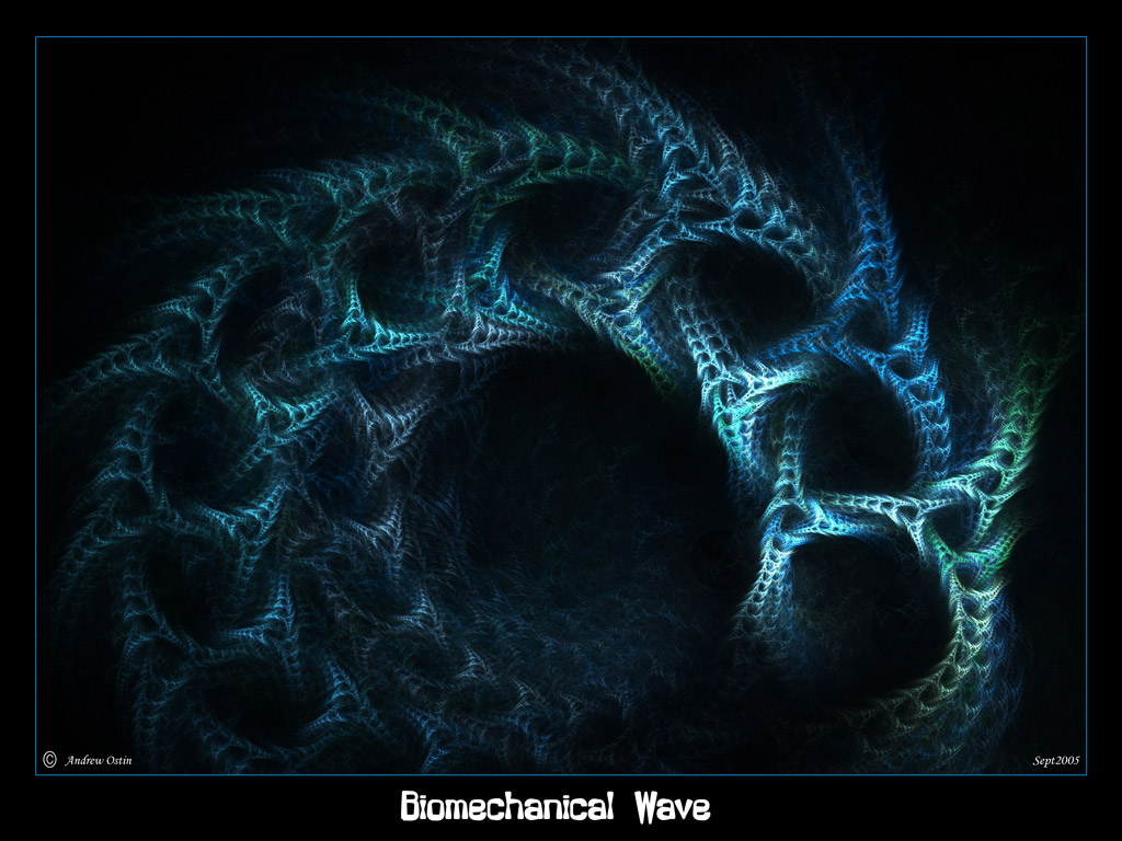 Biomechanical Wave by psion005 on DeviantArt