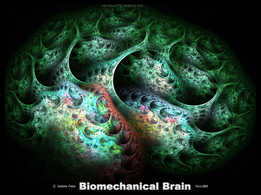 Biomechanical Brain by psion005 on DeviantArt