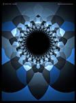 Escher cube tunnel