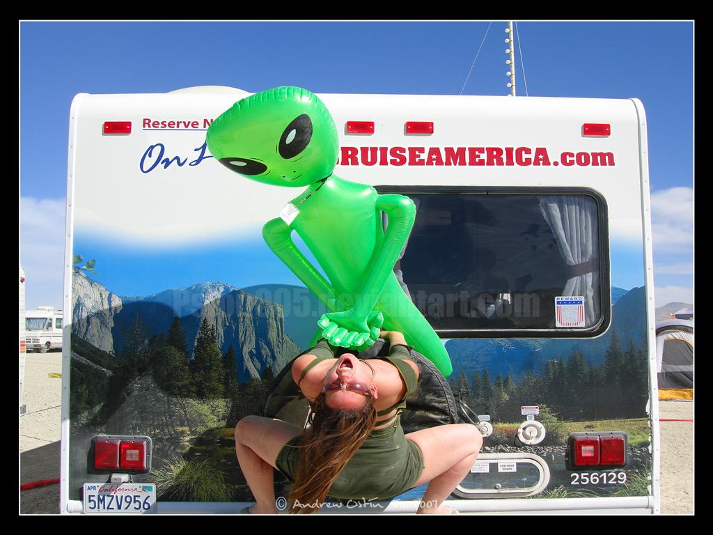 Alien Sex Fiend by psion005