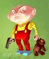 Stewie Gilligan Griffin by Hansell