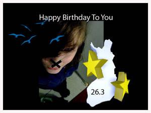 Happy Birthday Noir-Hiver