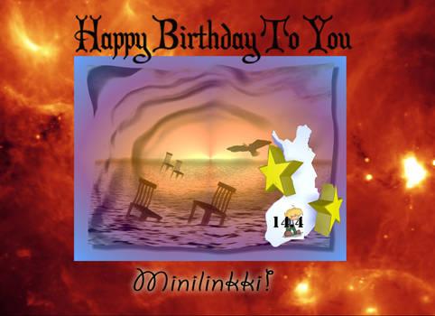 Happy Birthday Minilinkki