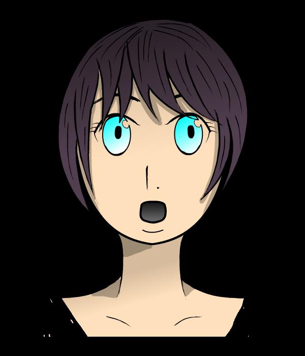 Anime Surprised Girl By Atrozax On Deviantart