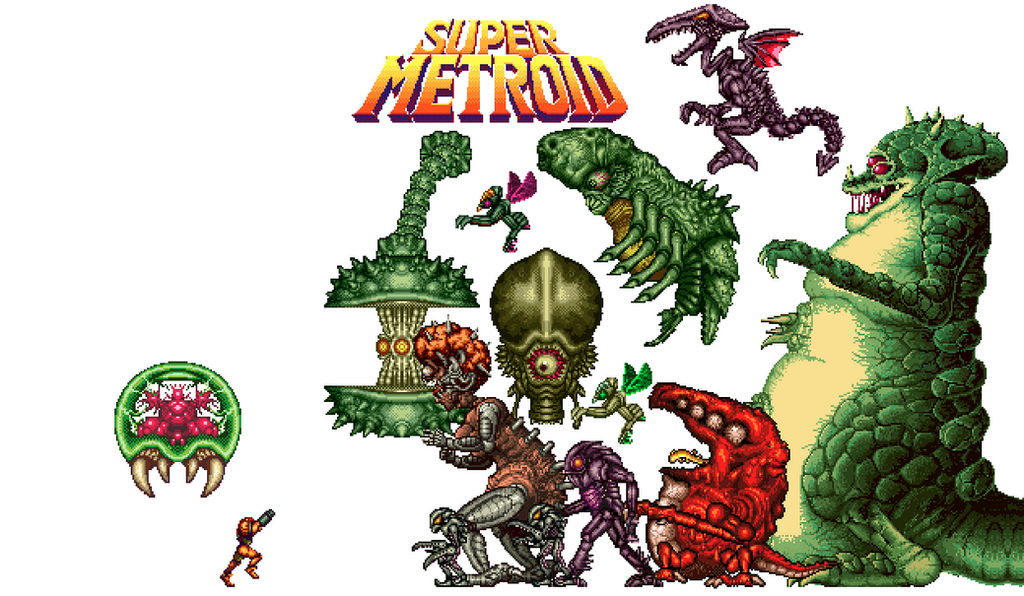 Super Metroid Wallpaper By TheOttoZone