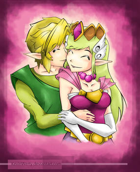 Link and Zelda Passion