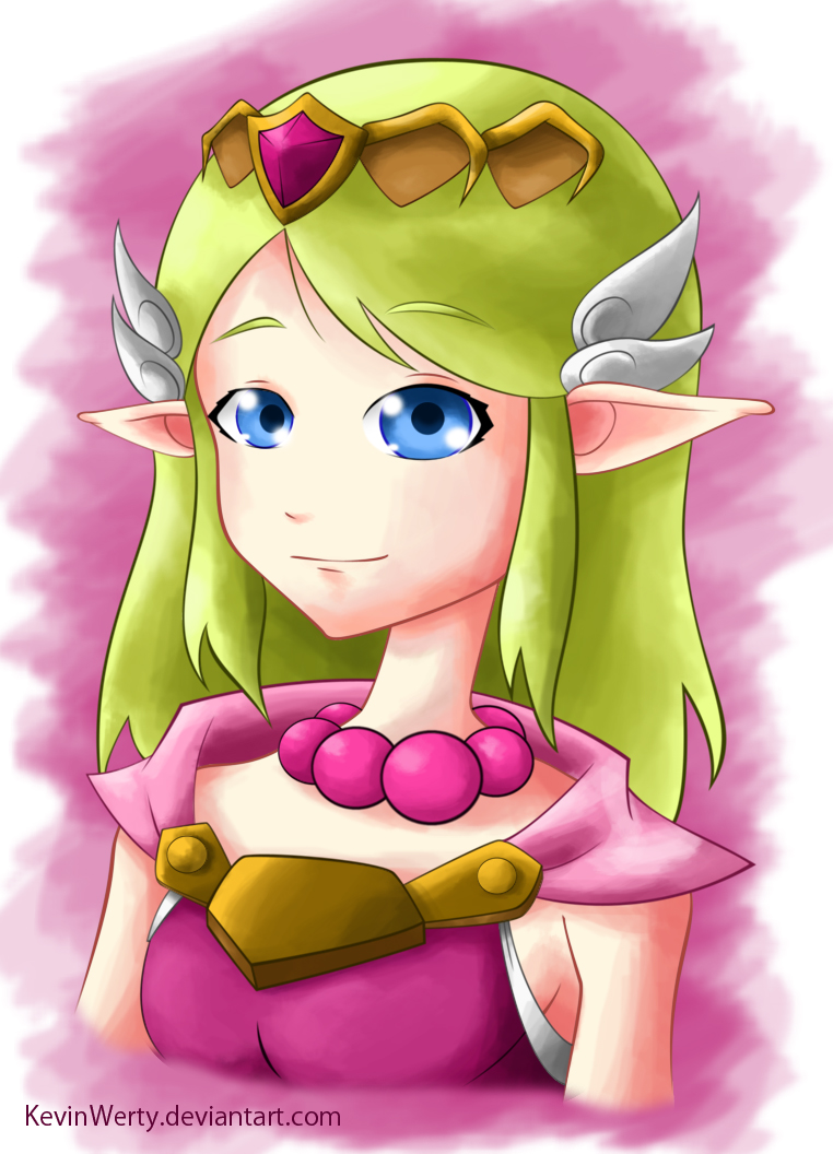 Princess Zelda by KevinWerty