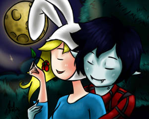 Fionna and Marshall lee - love