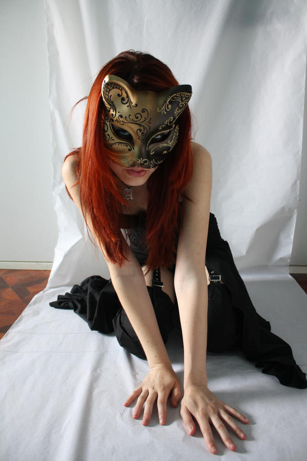 Cat Mask Stock 01 by GillianStock